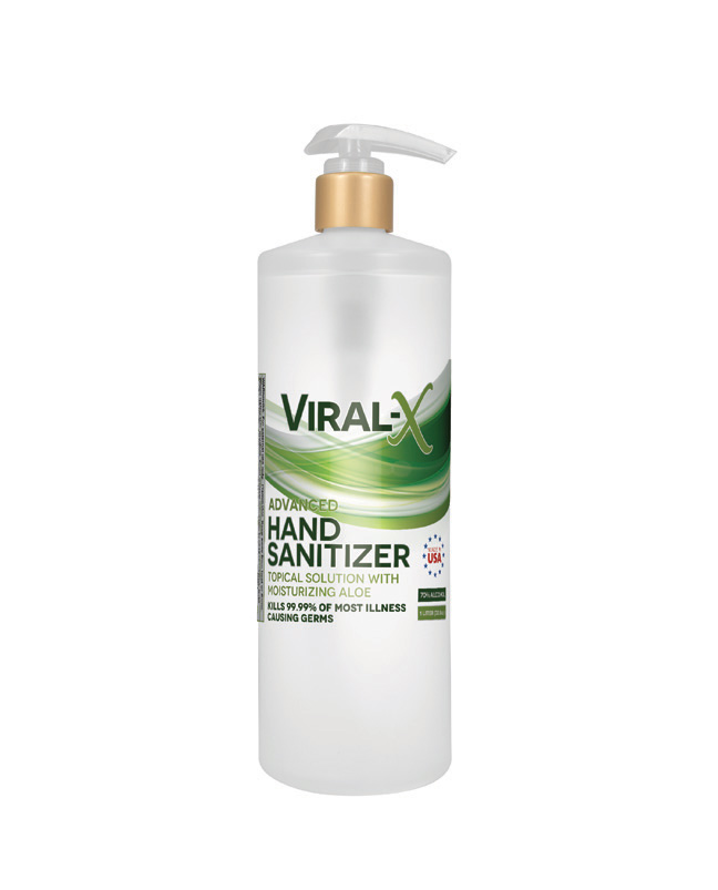 Live Green - Viral-X Hand Sanitizer with Aloe 1 Liter