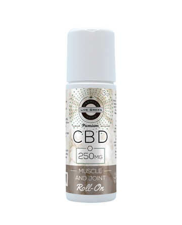 CBD Roll-On Muscle and Joint Cream 3oz 250mg
