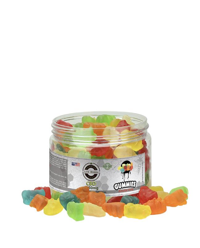 Live Green - Gummy Bears Clear 1150mg