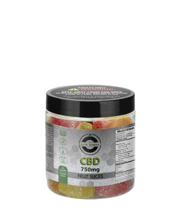 CBD Gummy Fruit Slices 8oz 750mg
