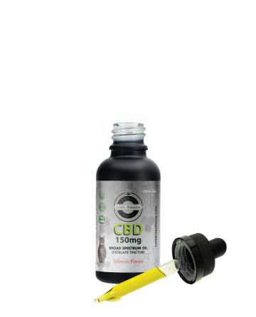 CBD Broad Spectrum MCT Oil T-Free Pet Tincture 30ml | Live Green Hemp