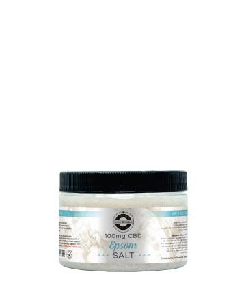 CBD Bath Salt Epsom 12oz 100mg