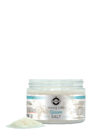 Live Green Bath Salt - 100mg | Live Green Hemp