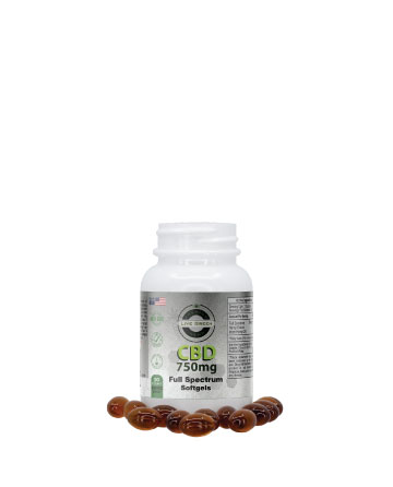 CBG / CBD Softgels  30pcs 750mg / 150mg | Live Green Hemp