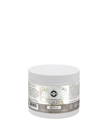 CBD Muscle and Joint Cream 4oz 250mg