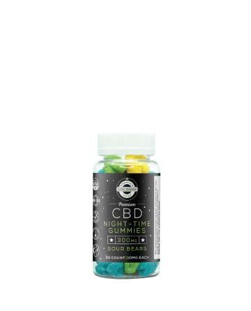 CBD Night-Time Gummy Sour Bears 30pcs 300mg