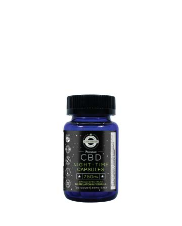 CBD Sleep Plus Capsules / Edibles | Live Green Hemp