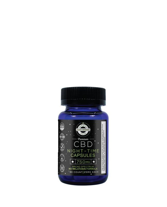 CBD Broad Spectrum Sleep Plus Capsules 30pcs 750mg
