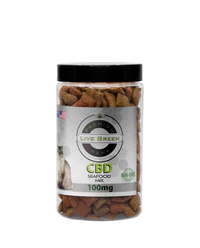 Pet Treats Seafood Mix 100mg / 200mg