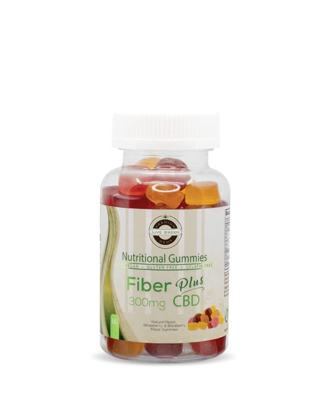 Live Green Nutritional Gummy Fiber