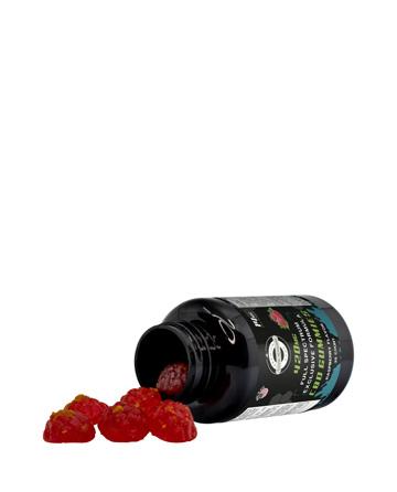 Live Green - Full Spectrum Exclusive Formula Raspberry Gummy - 420mg  30 Count | Live Green Hemp