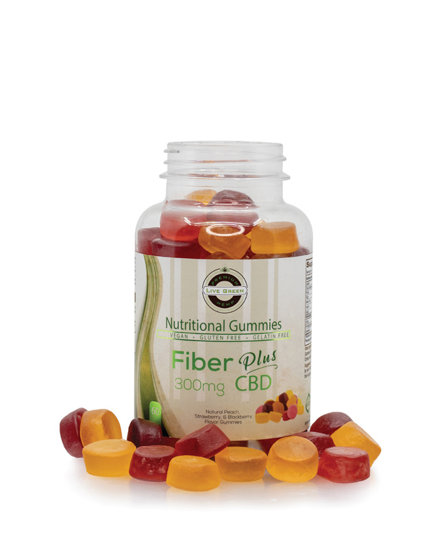 Live Green Nutritional Gummy Fiber