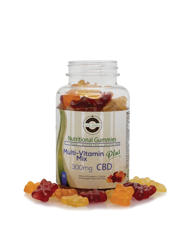 Live Green Nutritional Gummy Multivitamin Mix