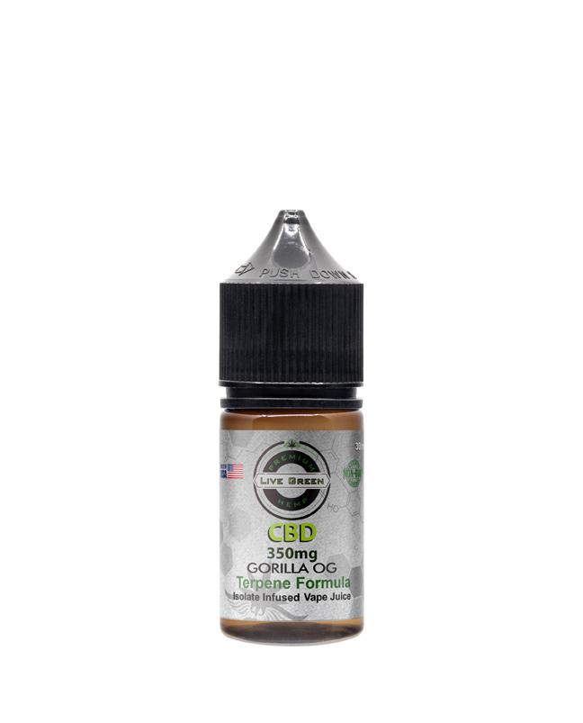 Live Green - Vape Juice Gorilla OG 350mg