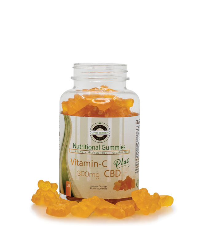 Live Green Nutritional Gummy Vitamin C
