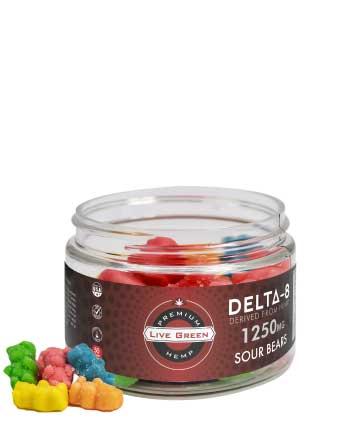 Delta 8 Legacy Gummy | Live Green Hemp
