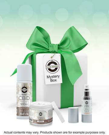 CBD Bath Bombs / Cosmetics / Creams Mystery Box $50 - $130 value