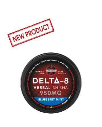Delta 8 Shisha 950mg   Live Green Hemp