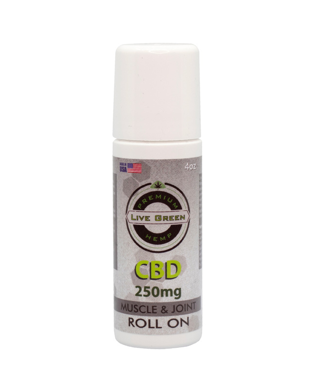 Live Green Roll-On Muscle and Joint Cream 250mg