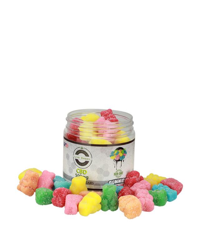 Live Green -  Gummy Bears 500mg