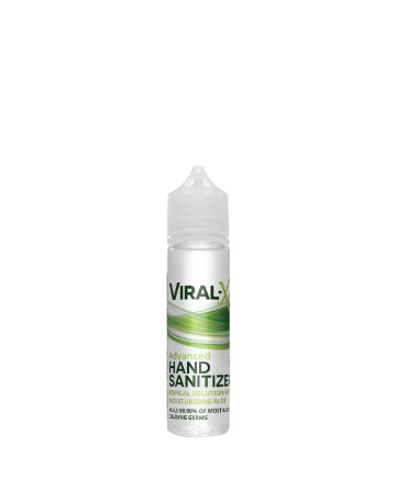 Viral-X Hand Sanitizer with Aloe 60ml | Live Green Hemp