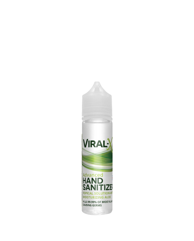 Live Green - Viral-X Hand Sanitizer with Aloe