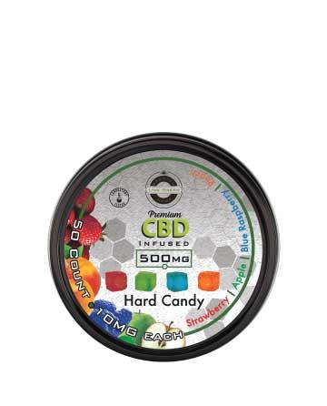 CBD Hard Candy 50pcs 500mg